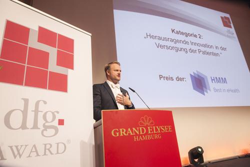 dfg Award 2016 - Istok Kespret begruesst die Anwesenden