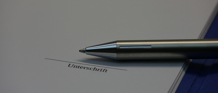 e-Signatur Kugelschreiber